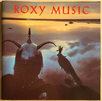 ROXY MUSIC AVALON CD REPRISE USA SILVER FACE DISC