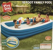 Play Day Inflatable 10 Foot Pool Bulk Listing 20 Pools