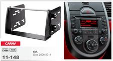 Carav 11-148 2din marco adaptador kit de radio Kia Soul 2008-2011