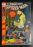 Amazing Spider-Man #96 Marvel Comic 1971 Drug Story Green Goblin Appearance