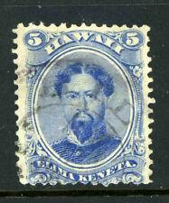 US Possessions Hawaii Fancy Cancel Scott 39 Used Purple Hilo Cancel Stamp 9D21 1