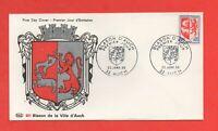 FDC 1966 - Blason de la ville d'Auch   (716)