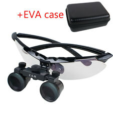 Dental Dentist Surgical Medical Binocular Loupes 2.5X Adjustable Superior View