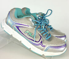 Fila Womens Athletic Shoes, Gray Teal 5hr18027-254, Size 9