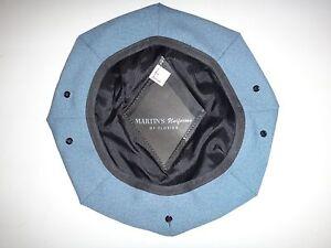 Bleu Couleur Coton Fabriqué Militaire Service Cap Housse Neuf, Jamais Utilisé