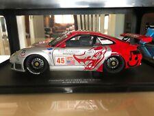 Porsche 911 GT3 RSR Flying Lizard  - Autoart 1/18 scale.