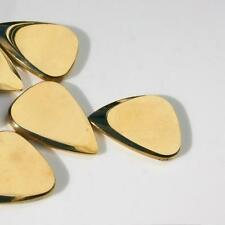 Timbertones Metal Tone Mini Guitar Pick Brass Finish - Single Pick