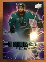UPPER DECK 2019-2020 SERIES ONE BRENT BURNS PURE ENERGY HOCKEY CARD PE-4