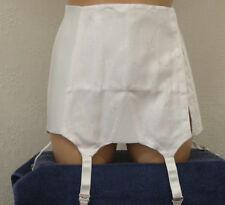 Nymphit HW III Twin Cotton, Hookside, Open Girdle, With Suspenders In White