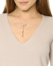 Alexis Bittar Faceted Cubic Zirconia & Gold Spike Crystal Necklace $265