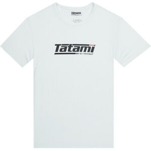 Tatami Fightwear Logo T-Shirt - White/Black