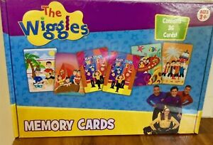The Wiggles Memory Cards Matching Card Game Educational Toy 3 years +