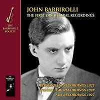 John Barbirolli Various Orche - The First Orchestral Recordings. Music  (NEW CD)