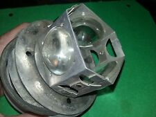 Cessna 150,172,182,210 Rotating Beacon Clear Lens  3EA in cage