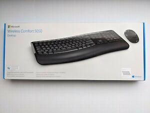 Microsoft Wireless Comfort 5050 Wireless Mouse Keyboard Combo Portuguese/Spanish