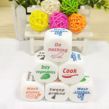 1x Dice Game Toy For Adult Love Couple Housework Duties Sex Fun Novelty Gift *
