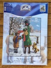 Creative World DMC Cross Stitch Kit The Snowman's Hat BK1183