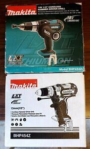 "Makita BHP454Z Makita BHP454Z 18V LXT Lithium-Ion Cordless 1/2"" Hammer..."