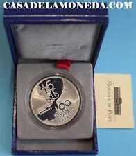 1994 100 FRANCS 15 ECUS FRANCOS MONNAIE DE PARIS SILVER FRANCE FRANCIA EUROPE