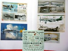 """P-51D Mustang,,506th Figter Group"""" - 1/48 DP Kagero Decals"""