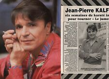 Coupure de presse Clipping 1984 Jean Pierre Kalfon  (2 pages)