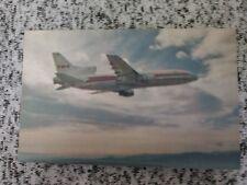 TWA  Airlines 1011 Postcard