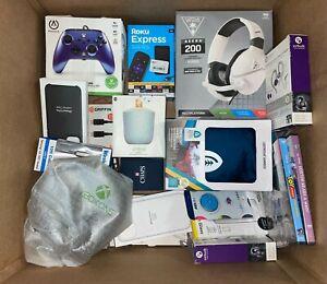 Wholesale LOT OF 30 Amazon Assorted Electronics, Headphones, Speakers NEW