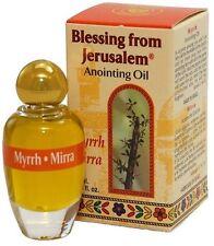 Anointing Oil Myrrh 0.34oz From Holyland Jerusalem.