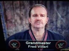 Fred Villari Shaolin Kempo Karate white to Black belt home study course