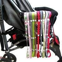 Baby Stroller Secure Toy Rope No Drop Bottle Cup Holder Strap Chair Car Seat HK