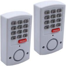 2 Stück Alarmanlage Türalarm Fenster Alarm Zahlencode 105 dB Haus Panik Taste