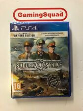 Sudden Strike 4 Day One Ed Sealed PS4 Playstation, Supplied by Gaming Squad Ltd