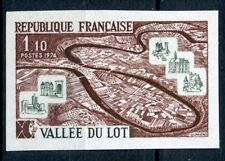 TIMBRE FRANCE NEUF N° 1807 ** NON DENTELE / MNH / LA VALLEE DU LOT
