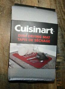 Dish Drying Mat CUISINART Grey Dish Drying Mat  16 in x 18 in