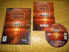 PC GAME-AGATHA CHRISTIE-DELITTO SOTTO IL SOLE-Computer-Gioco-Games-ITALIANO-ITA