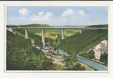 Ak - the Largest Reichsautobahnbrücke in Romantic Muldental at Siebenlehn I