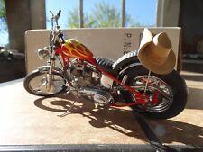 Franklin Mint Harley Davidson Easy Rider Billy Bike Chopper Diecast Model Bike