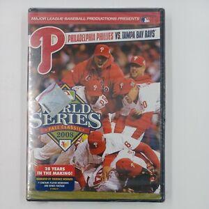 2008 World Series: Philadelphia Phillies vs Tampa Bay Rays (DVD) NEW SEALED