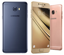 "Samsung Galaxy C7 Pro SM-C7010 64GB (FACTORY UNLOCKED) 5.7"" HD - Blue Gold Pink"