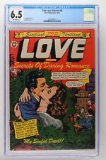 Top Love Stories #9 - Star Publications 1952 CGC 6.5