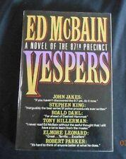 Ed McBain - VESPERS - Advance Reading Copy - 1st