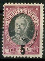 San Marino 1927 Sass. 132 Nuovo ** 100%