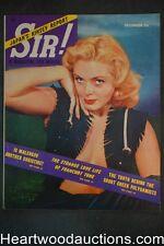 Sir! Dec 1953 Szokoli Art,  Football, Tattoed Women - Ultra High Grade- NAPA