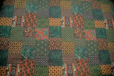 """Vintage Waverly Patchwork Screen Print """"TRIESTE"""" By the Yard Made in PERU"""