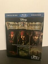 Pirates of the Caribbean Trilogy [Blu-ray] DVD, Keira Knightley, Orlando Bloom,