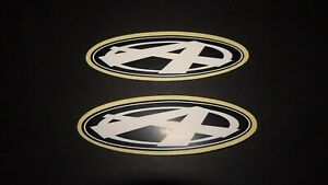 2 AUTHENTIC OVAL MANITOU ANSWER BIKES STICKERS / DECAL #3