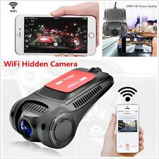 170° WiFi 1080P Hidden Car DVR Mini Camera Video Recorder Dash Cam Night Vision
