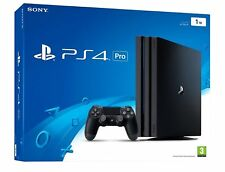 PS4 Pro 1TB Console Bundle Playstation 4 Pro + 4 Games *NEW* WORLDWIDE SHIPPING