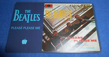 Beatles Telefonkarte Please Please Me
