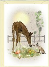 "Horse No. 1 Design (4""x6"") Blank Card ideal for any occasion - by Starprint"